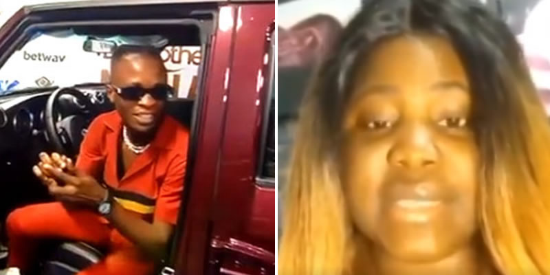 Laycon's alleged baby mama surfaces few hours after receiving 85 million