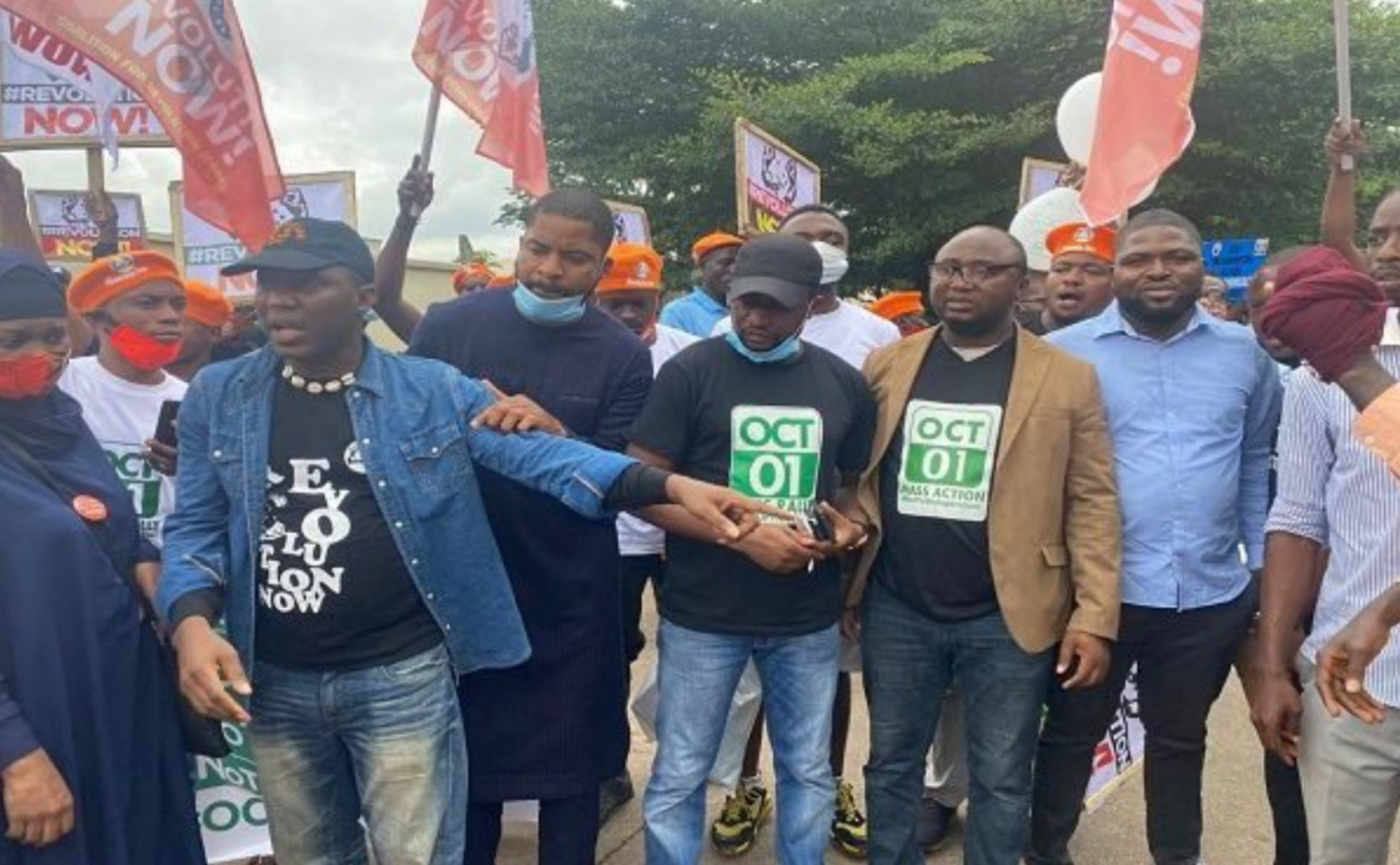 RevolutionNow protest hits cities as SSS arrest several protesters