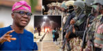 Lekki shooting: Army confirms Lagos Govt called for soldiers to intervene