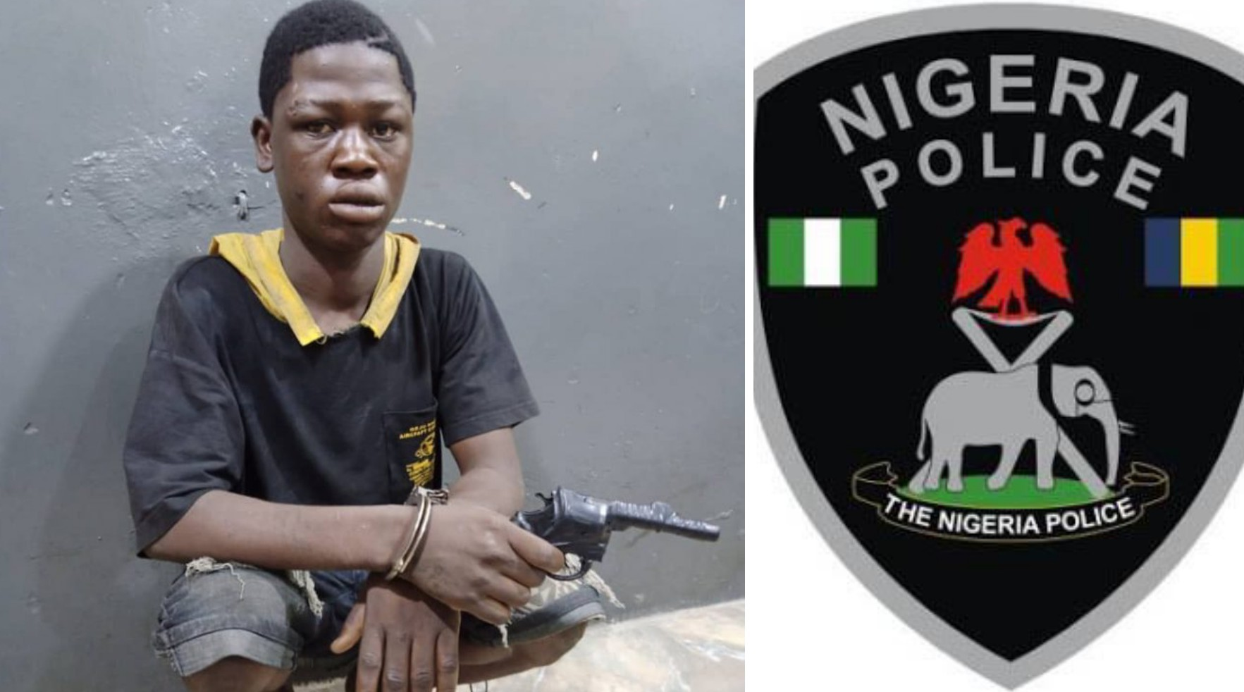 Police nab 19-year-old suspected robber with dummy gun in Lagos - Rex News