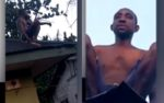 VIDEO: Delta residents accuse man of being a wizard, say he crashed on roof while returning from Coven