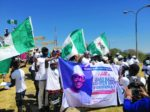 PHOTOS: Women, youths hold rally in support of Buhari's administration