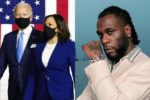 Burna Boy's song makes Joe Biden, Kamala Harris' inauguration playlist