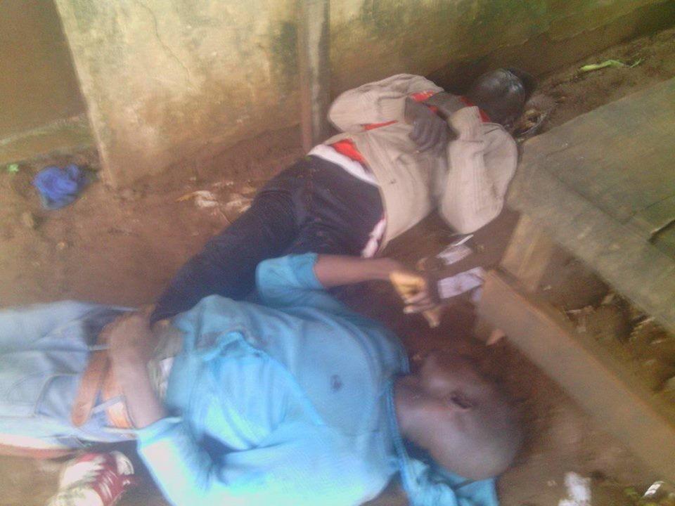 Photos: Thunder stike kills three in Ogun