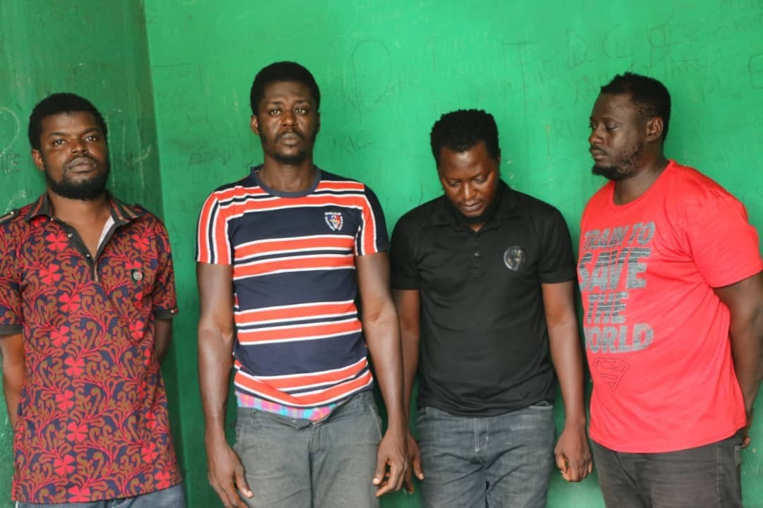Police dismisses four SARS operatives for armed robbery, kidnapping and unlawful detention...charge them to court!