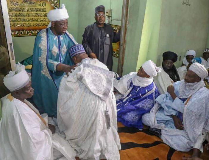 Photos: Senate President Bukola Saraki elevated to the position of