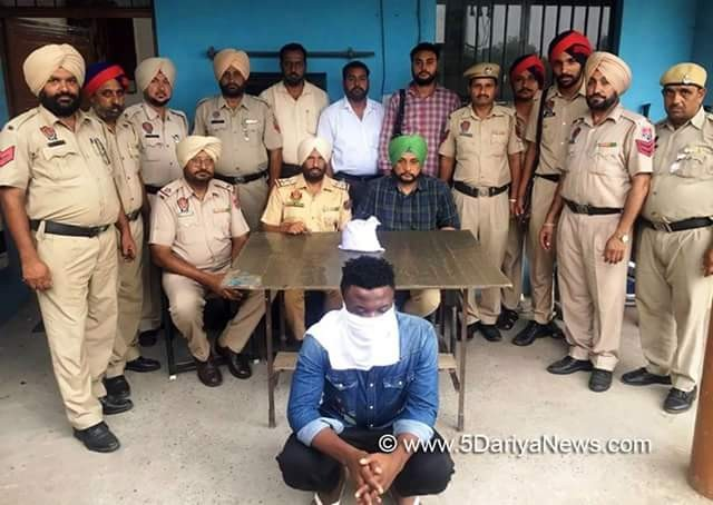 """Big fish"" Nigerian drug smuggler arrested in India with heroin"