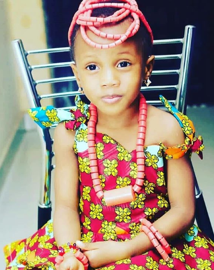 Four-year-old girl Elo Ogidi who disappeared during church service in Lagos has been found!