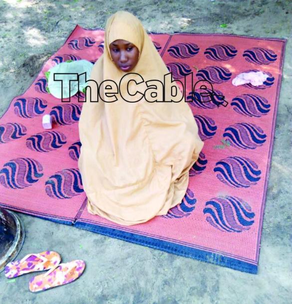 "Leah Sharibu speaks from Boko Haram captivity, says ""I am calling on the president to pity me"""