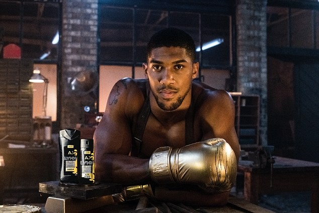 Anthony Joshua shows off ripped physique ahead of boxing showdown with Alexander Povetkin?(Photos)