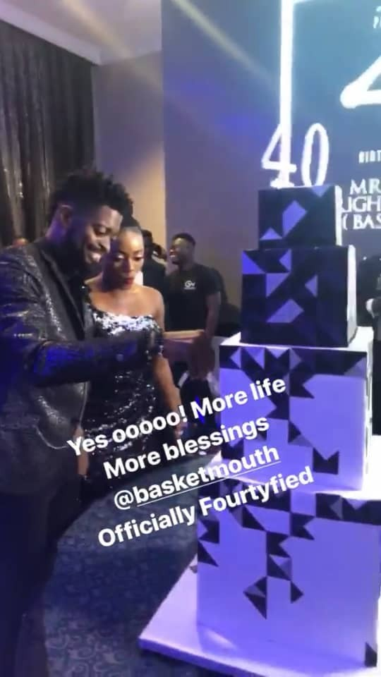 Photos from comedian Basketmouth