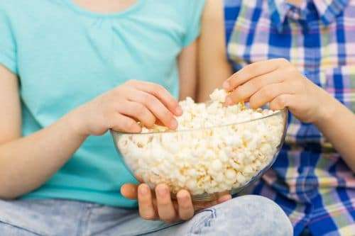 You save money by watching movies at home