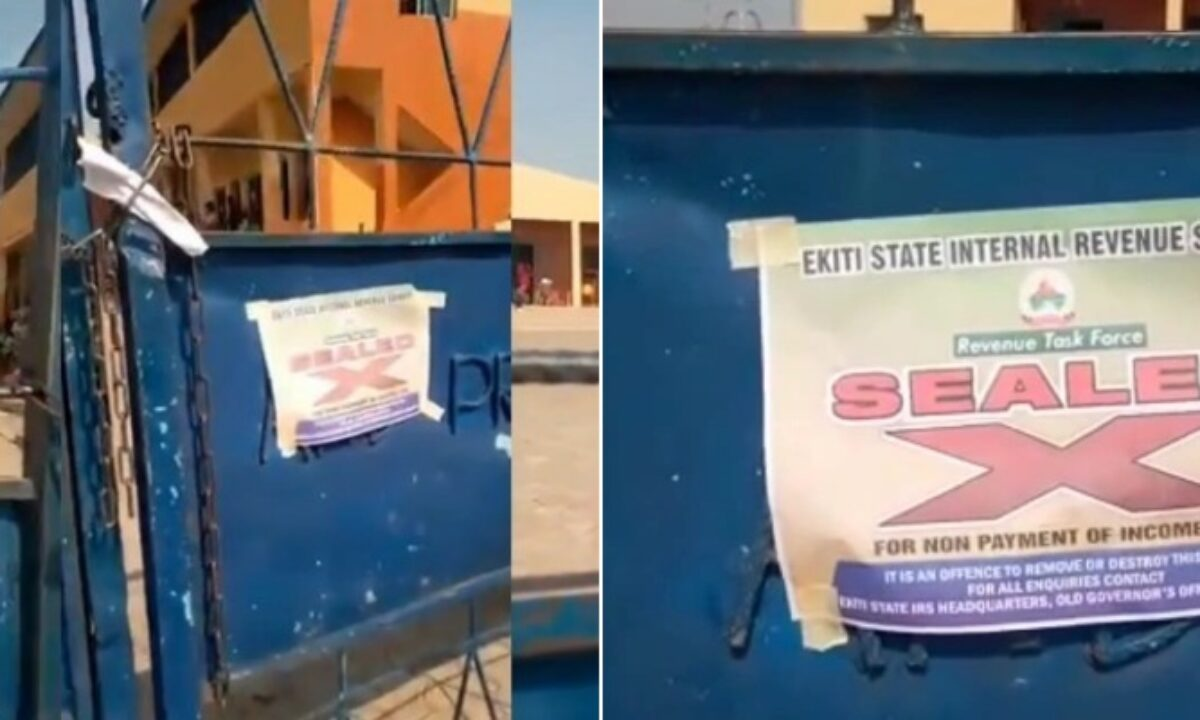 Image result for Ekiti state govt denies locking children inside school after management failed to pay tax