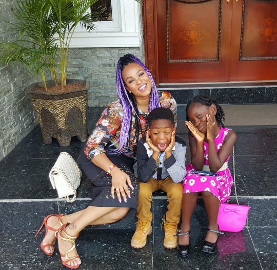 Image result for Adaeze Yobo and kid