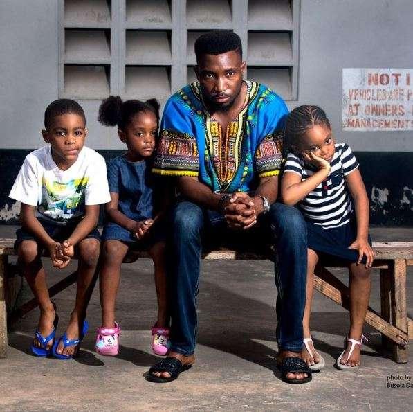 Timi Dakolo and his yard people